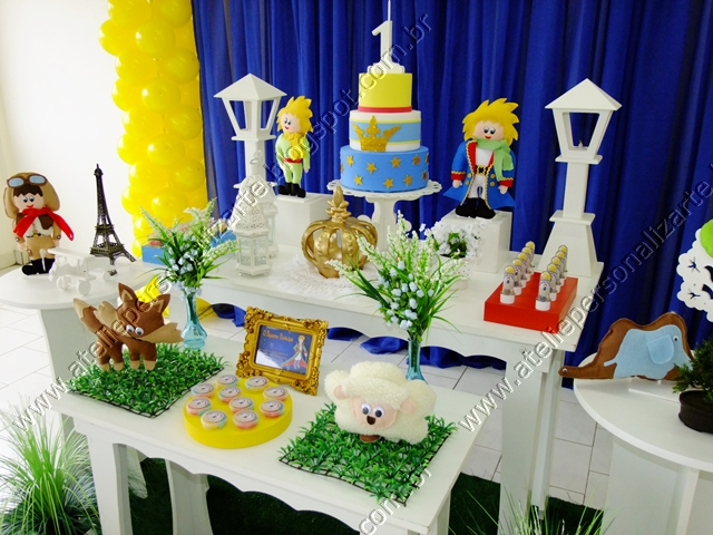 decoracao festa pequeno principe