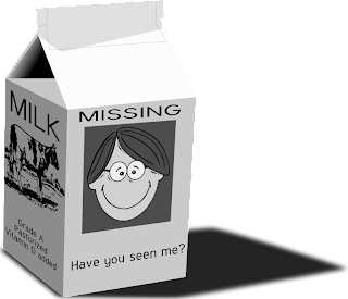 Missing on a Milk Carton
