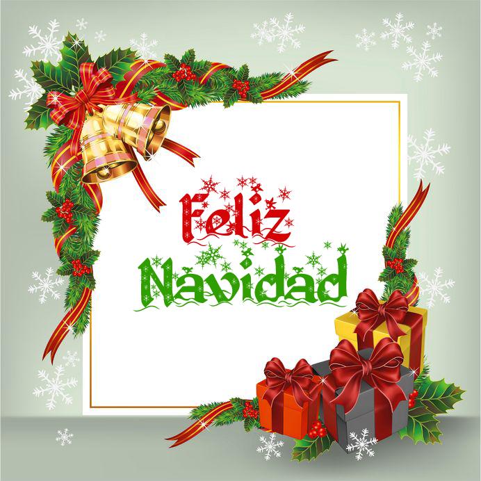 Banco de im genes 35 im genes de navidad con mensajes for Dibujos para tarjetas navidenas