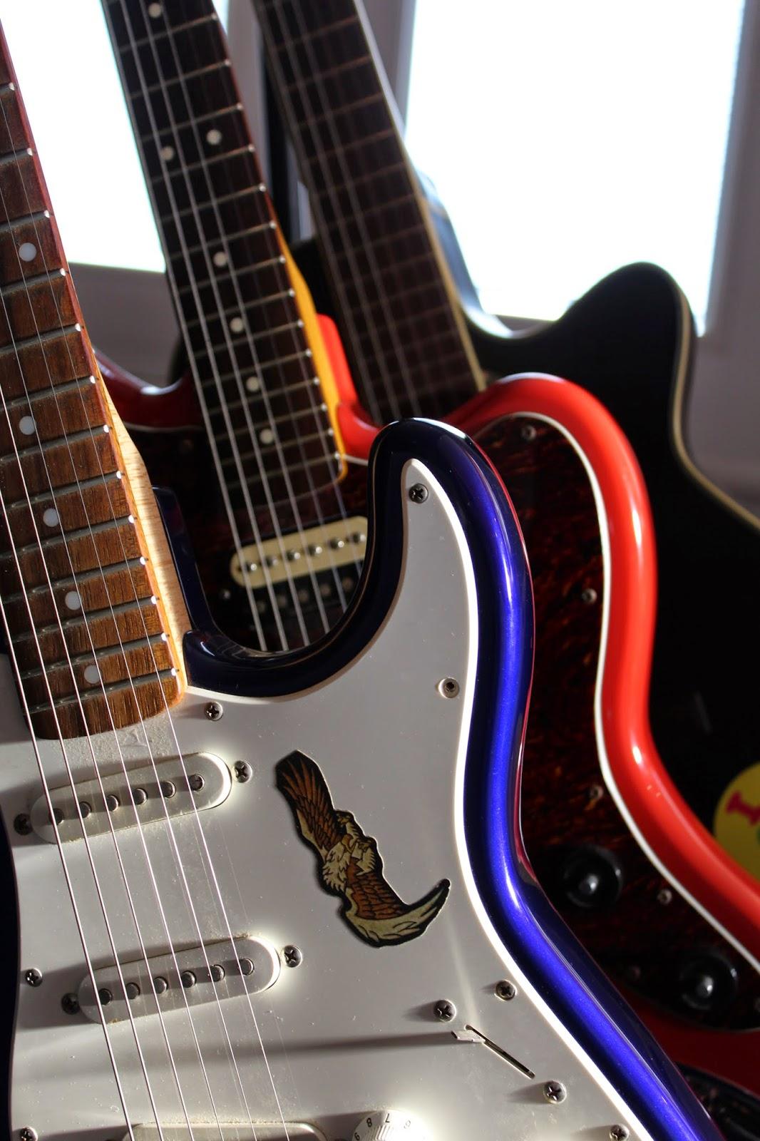 Queens Over Kings guitars