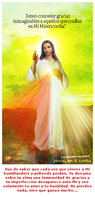 ganas con jesus si te humillas pidiendo perdon