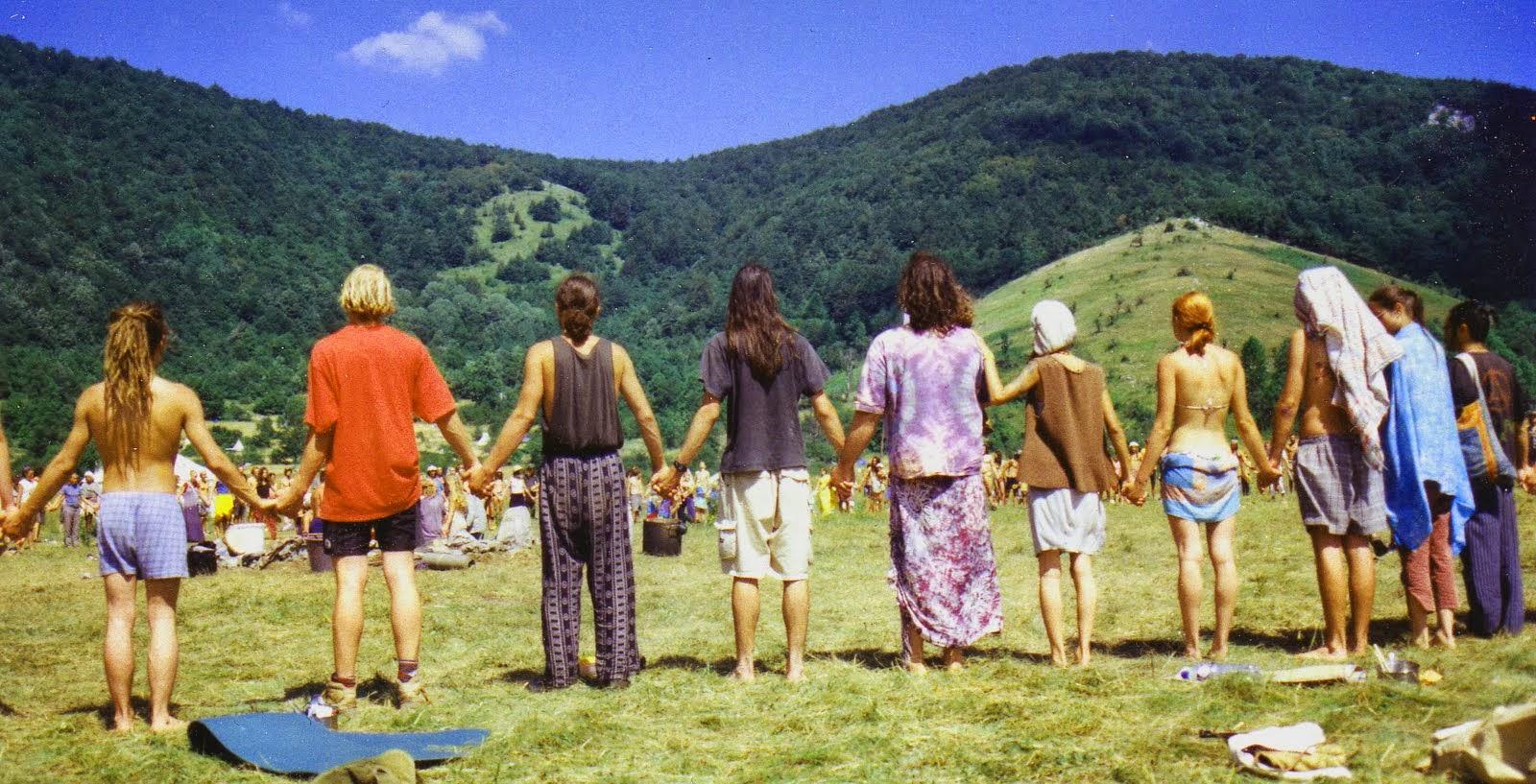 History of hippie movement