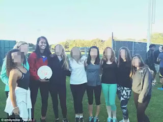 """""""She played beer pong and took shots''...students makes fun of Amalia Obama's visit to their school (photos/tweets)"""