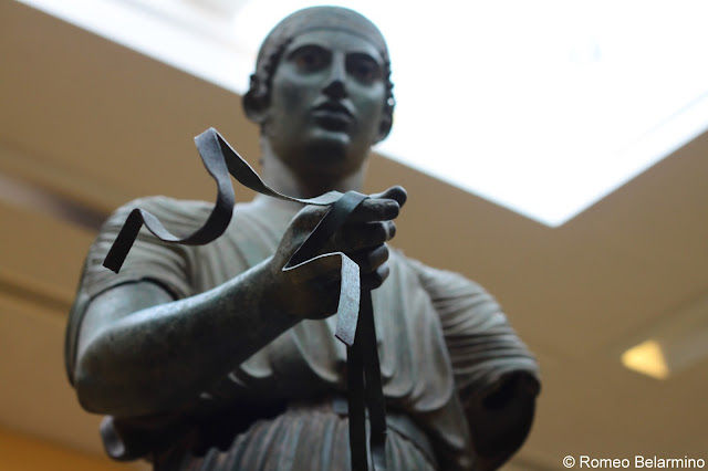 Charioteer of Delphi Bronze Statue Central Greece Attractions