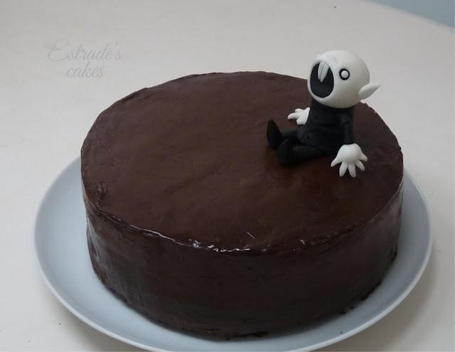 tarta de chocolate Nosferatu - 1