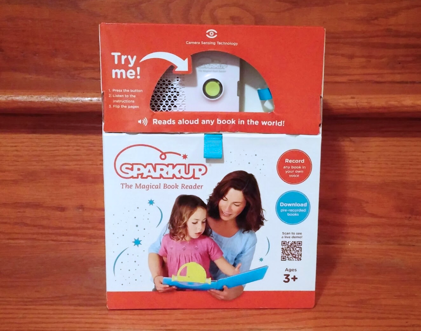 Sparkup: The Magical Book Reader - packaging