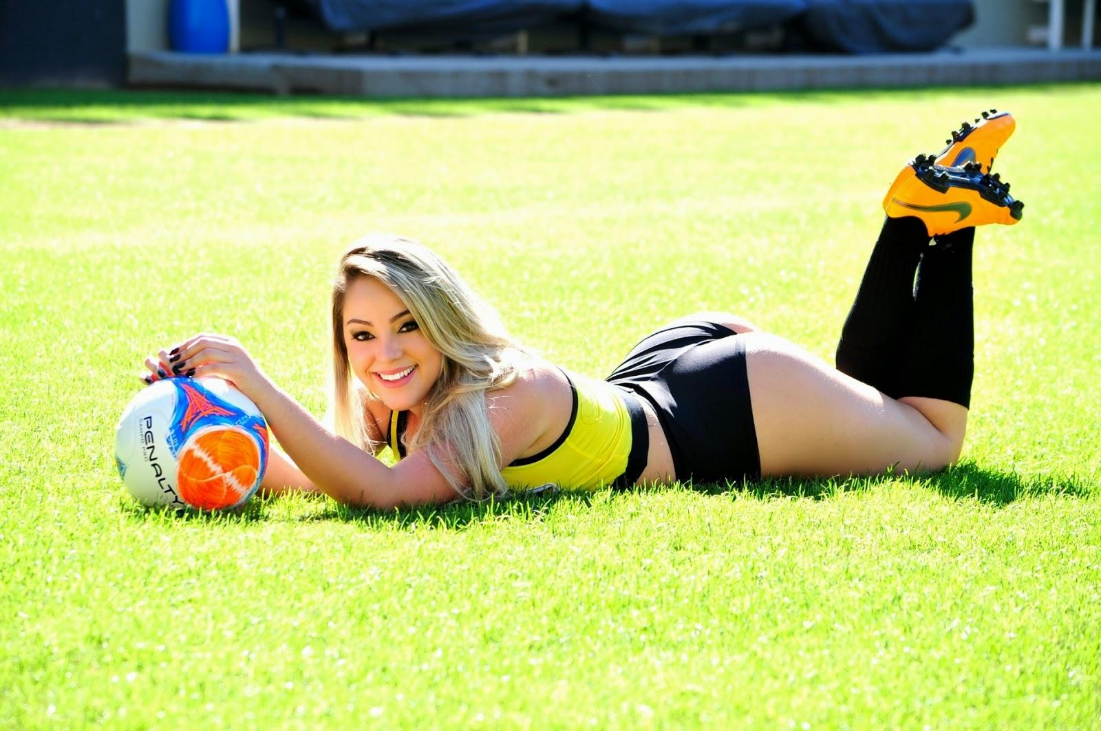 Tassia a Bela do Criciúma Esporte Clube (2014)