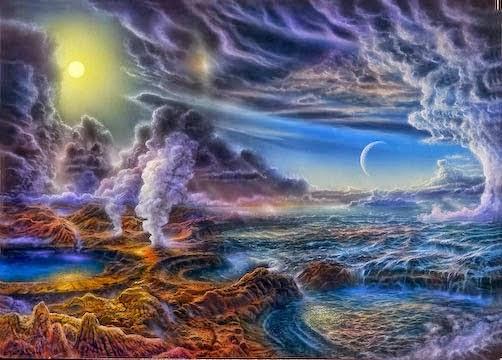 Resultado de imagen de Un cometa trajo la vida a la Tierra