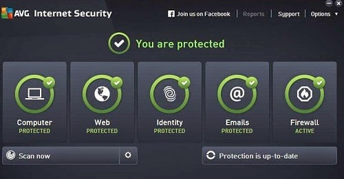 AVG Internet Security 2015 License Key
