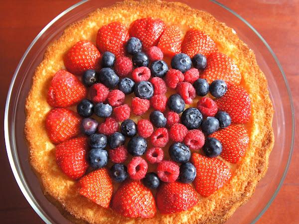 REZEPT: Biskuitboden für Obstkuchen