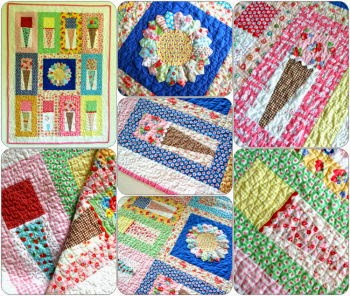 bubble gum icecream quilt pattern by Trish Poolson