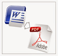 Save Document and Power Point Presentation In PDF File Format