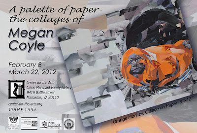 A Palette of Paper - the collages of Megan Coyle