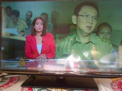 Ahok di liput oleh TV Al-Jazeera