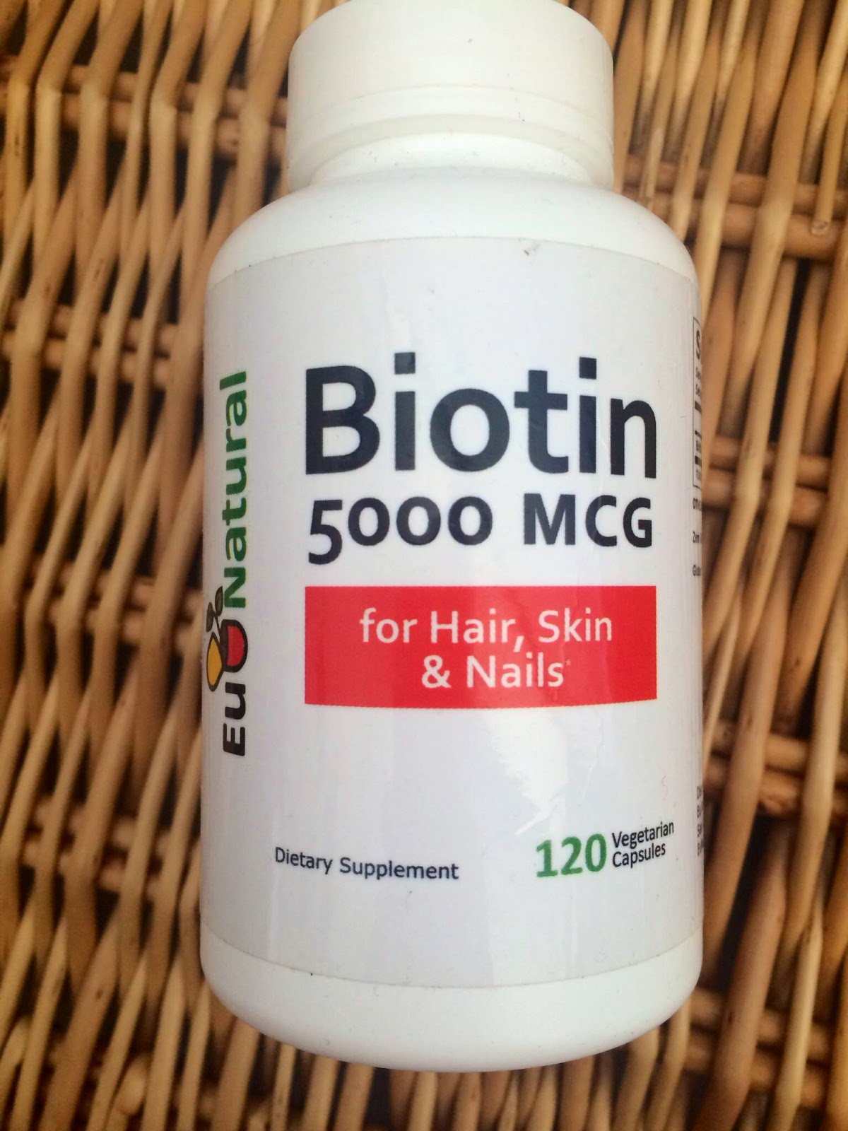 ... around 2.5 mg of biotin per day, so where can we get our daily fill