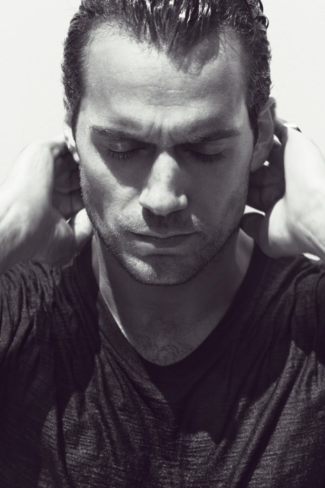 Henry Cavill in Interview Magazine June 2013