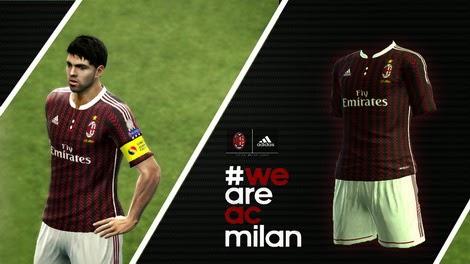 PES 2013 AC Milan Fantasy Kits by TANIR