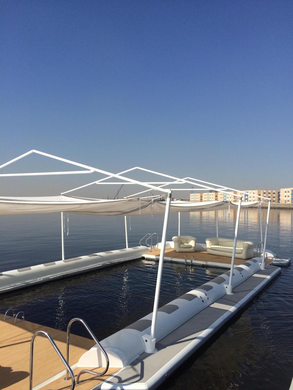 Piattaforme marine gonfiabili con piscina a mare coperture gonfiabili e altri gonfiabili - Gonfiabili con piscina ...