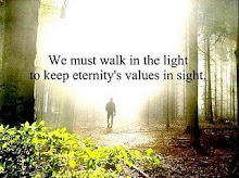 Walk in the light (spiritual) even during the night.