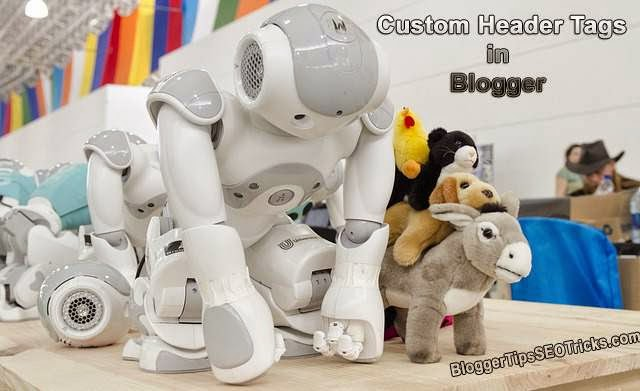 adding custom robots header tags in blogger