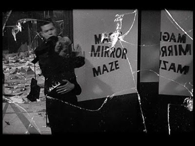 Orson Welles. Lady from Shanghai. deleuze. cinema. mirror scene