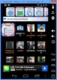Memindahkan File dari Komputer ke Virtual Android Genymotion
