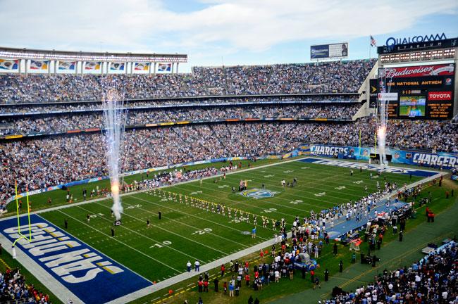 San Diego Chargers Luxury Suite | Qualcomm Stadium