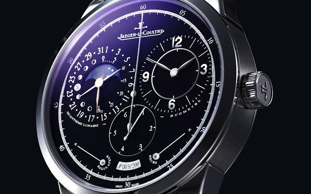 Jaeger-LeCoultre - Duomètre à Quantième Lunaire detail