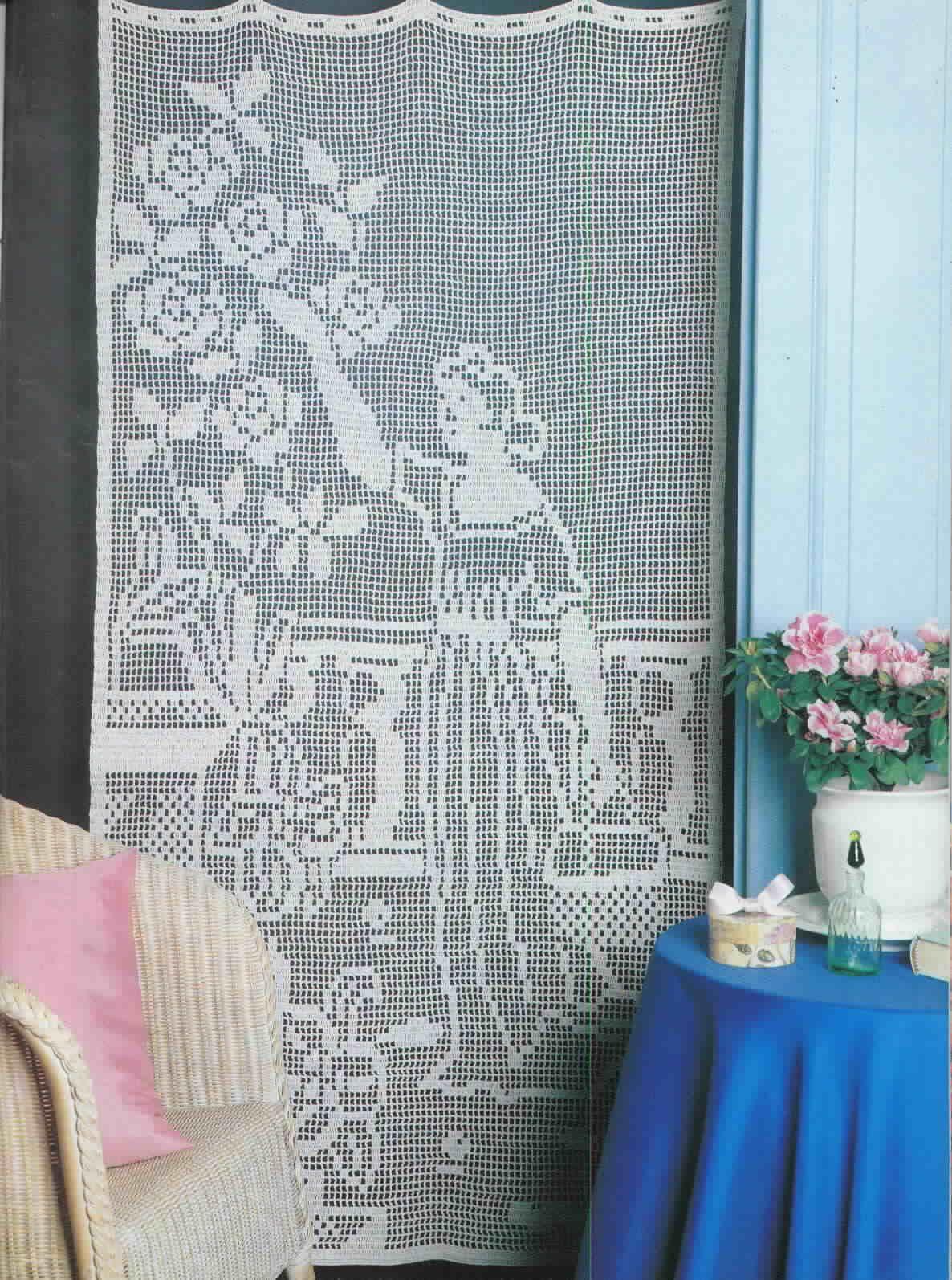Cortinas Para Sala A Crochet Mediabix Com Inspira O De Design