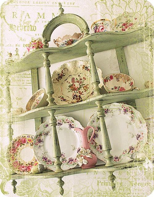 Decor Ideas Curio Shelves Vintage Plates Shelf Vintage