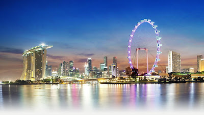 Marina Bay Sand, Singapore Flyer, holiday in singapore