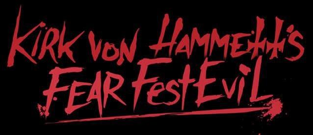 Kirk Von Hammett´s Fear FestEvil Logo