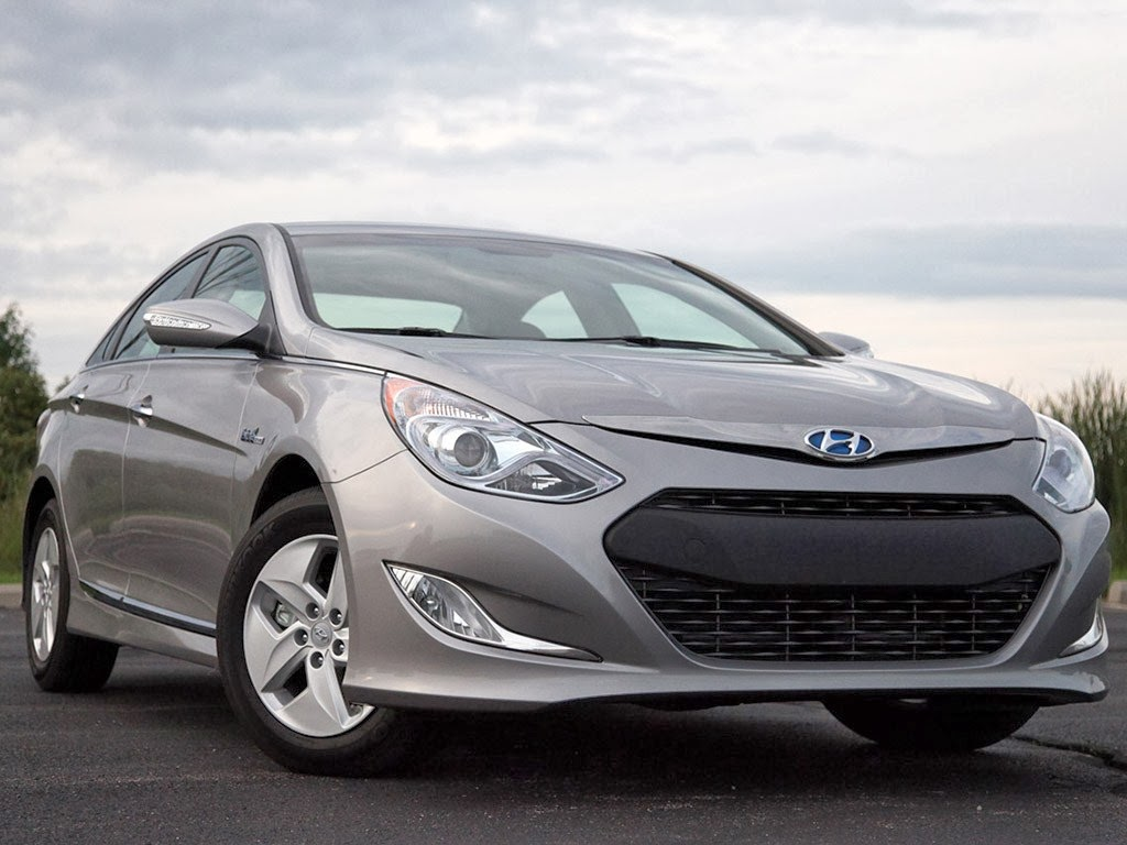 Hyundai Sonata Hybrid Photos New