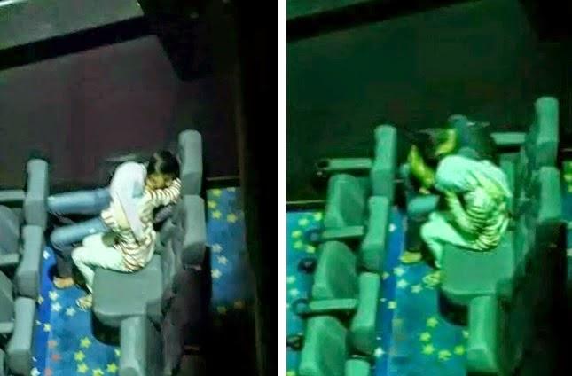 Remaja Kantoi Dirakam Ketika Bernafsu Dalam Panggung Wayang