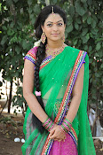 Actress Anjali Rao in Half Saree-thumbnail-1