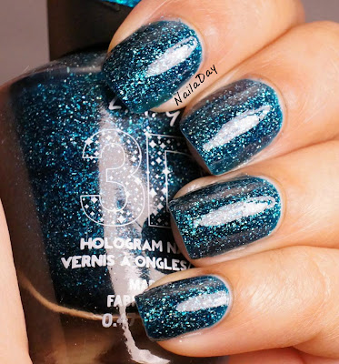 NailaDay: L.A. Girls 3D Effects Teal Dimension
