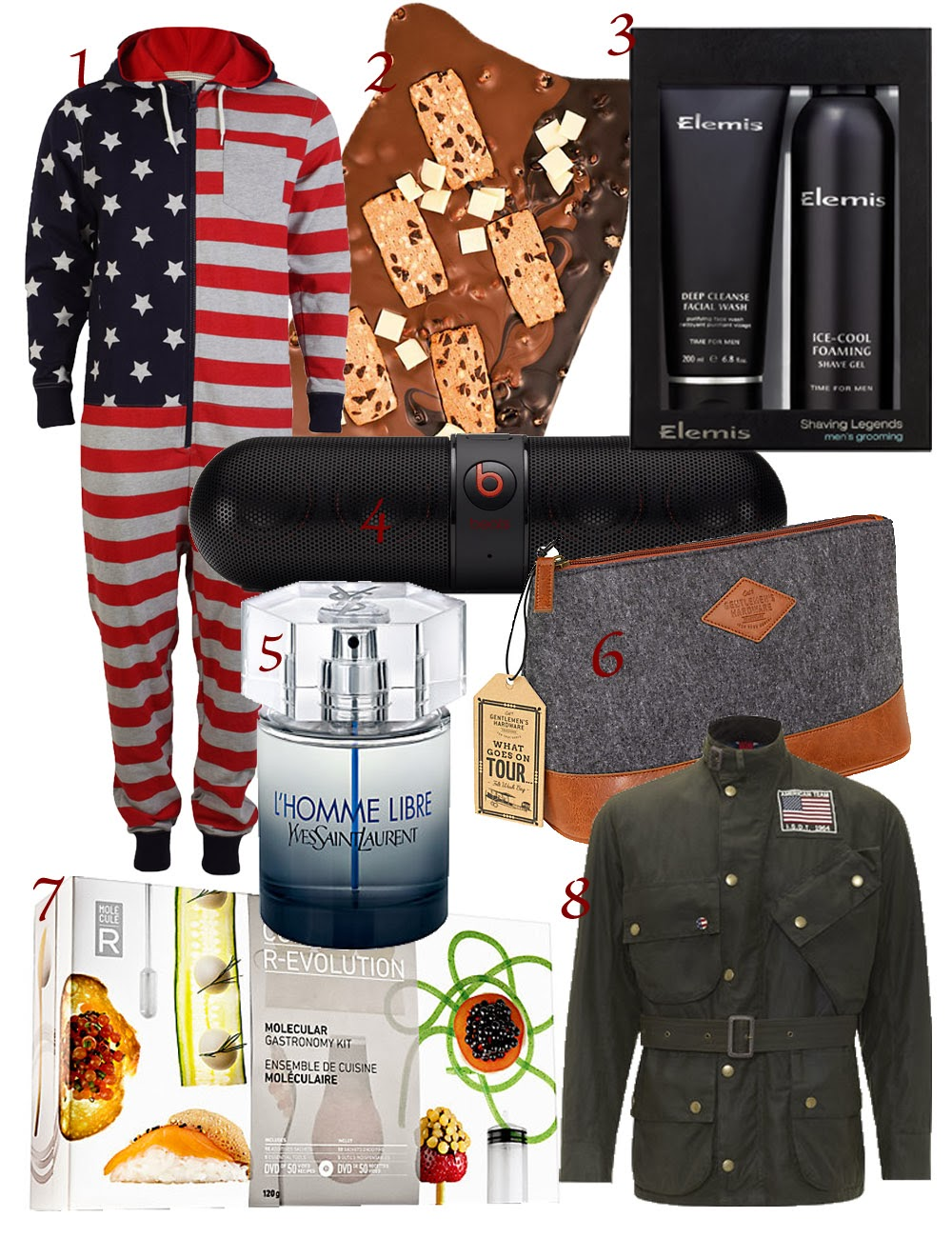 Christmas Gift Guide 2013 - Gifts for Him | Baking Fashion