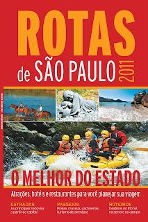Capa do guia Rotas de São Paulo