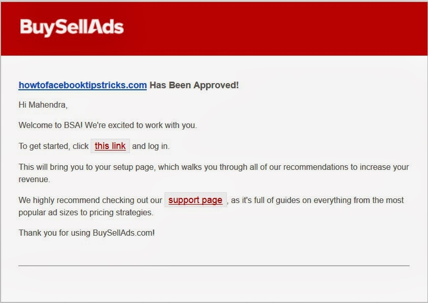 How To Get Buysellads Account Approved image picture
