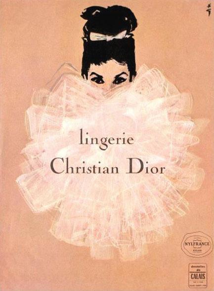 Christian Dior Lingerie vintage