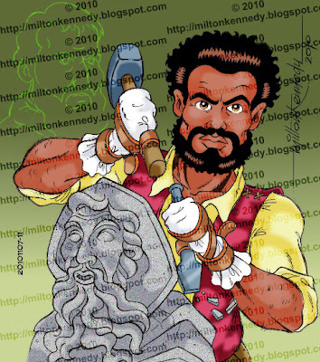 Aleijadinho Michelangelo