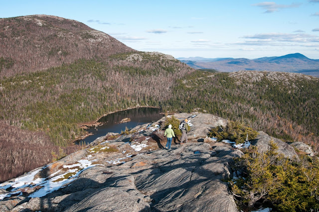 Tumbledown Mountain in northwestern Maine