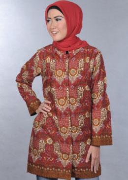 Model Baju Batik Terbaru Pria Wanita