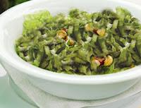 Salada de Escarola com Champignon (vegana)