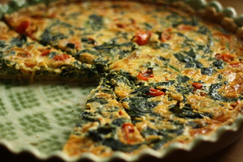 Výsledek obrázku pro Špenátový quiche se sýrem