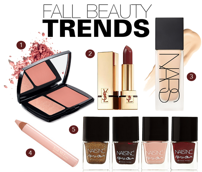 Fall beauty trends