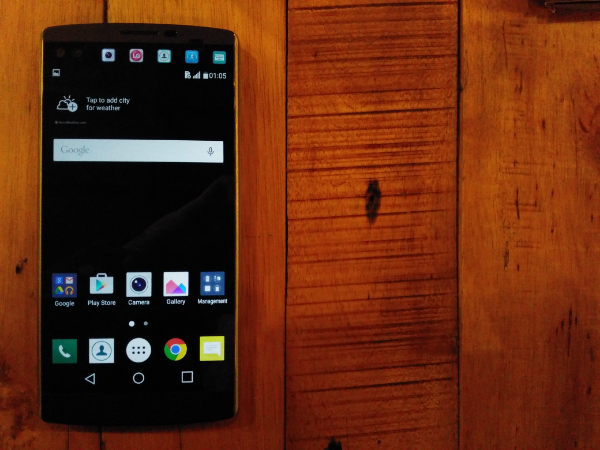 LG V10 Launched, Features Dual Front Cameras and Dual Screens