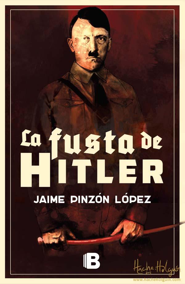diseño de portada del libro La fusta de Hitler