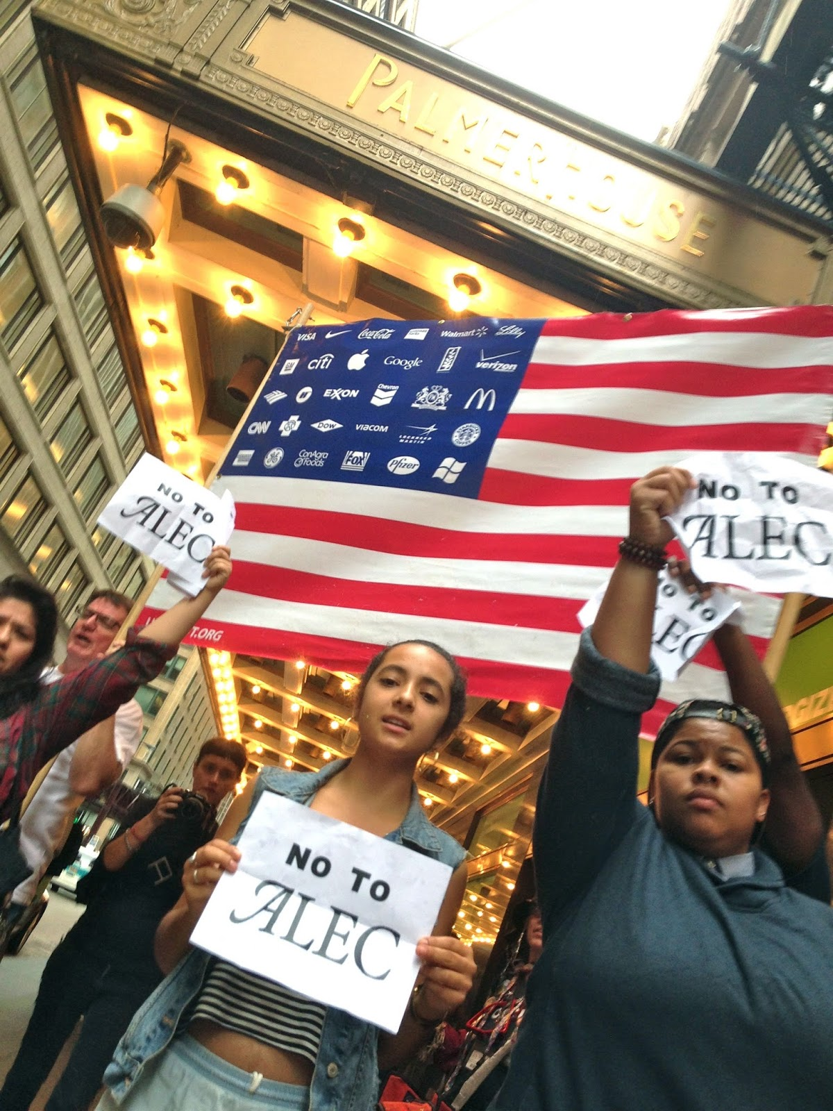 Students, Teachers, Clergy, Workers Opened A Week Of ALEC Protests   Photo  @phillipcantor