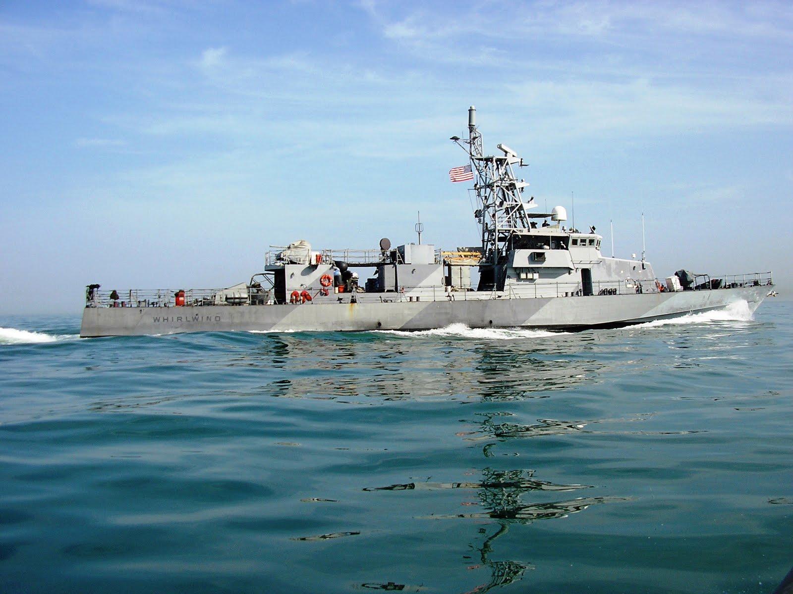 US Navy Cyclone Class Patrol Craft